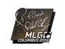 Skin Sticker | f0rest | MLG Columbus 2016