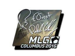 Sticker | f0rest (Foil) | MLG Columbus 2016