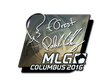 Sticker f0rest (Foil)   MLG Columbus 2016