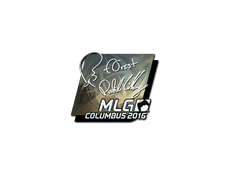 Skin Sticker | f0rest (Foil) | MLG Columbus 2016