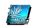 Sticker | fnx (Foil) | MLG Columbus 2016