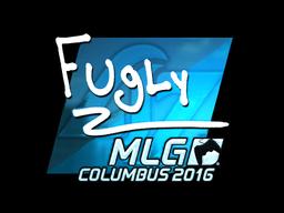 Наклейка | FugLy (металлическая) | MLG Columbus 2016