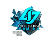 Sticker Counter Logic Gaming (Foil) | Cologne 2016