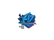 Skin Sticker | Counter Logic Gaming (Holo) | Cologne 2016