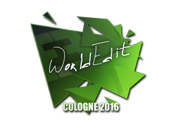 WorldEdit | Cologne 2016