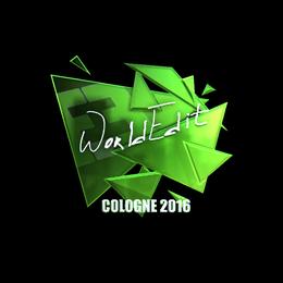 WorldEdit (Foil) | Cologne 2016