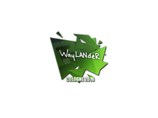Skin Sticker | wayLander | Cologne 2016