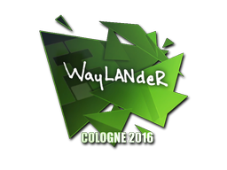 Sticker | wayLander | Cologne 2016