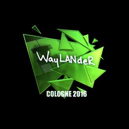 wayLander (Foil) | Cologne 2016