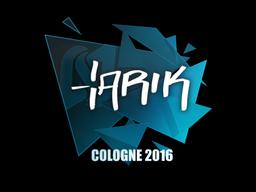 Sticker | tarik | Cologne 2016