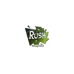 Sticker | Rush | Cologne 2016