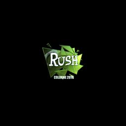 Sticker | Rush (Foil) | Cologne 2016