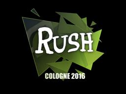 Sticker | Rush | Cologne 2016