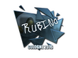 Sticker RUBINO (Foil) | Cologne 2016