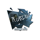 Sticker | RUBINO (Foil) | Cologne 2016