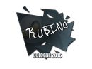 Sticker | RUBINO | Cologne 2016