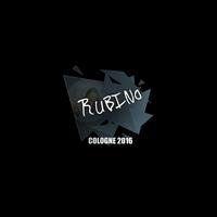 Sticker | RUBINO | Cologne 2016