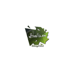 Sticker   stanislaw   Cologne 2016