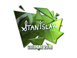Sticker | STANISLAW (Foil) | Cologne 2016