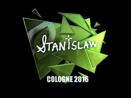 Sticker | STANISLAW (Foil) | Cologne 2016