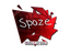 Sticker | spaze (Foil) | Cologne 2016