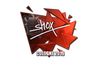 Sticker | shox (Foil) | Cologne 2016
