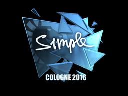 s1mple | Cologne 2016