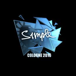 s1mple (Foil) | Cologne 2016