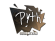 Sticker pyth | Cologne 2016