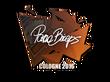 Sticker pashaBiceps   Cologne 2016