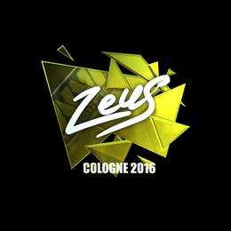 Zeus (Foil) | Cologne 2016
