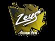 Sticker Zeus | Cologne 2016