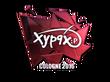 Sticker Xyp9x (Foil) | Cologne 2016
