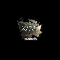 Sticker   Xizt (Foil)   Cologne 2016