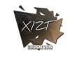 Sticker Xizt | Cologne 2016
