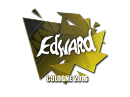 Sticker | Edward | Cologne 2016