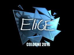 Sticker | EliGE (Foil) | Cologne 2016