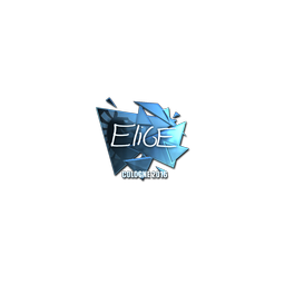 Sticker | EliGE (Foil) | Cologne 2016