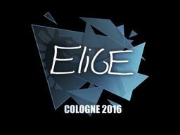 Sticker | EliGE | Cologne 2016