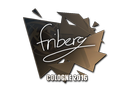 Sticker | friberg | Cologne 2016