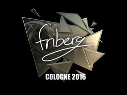 Sticker | friberg (Foil) | Cologne 2016
