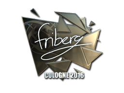 Sticker | friberg (Foil) | Cologne 2016