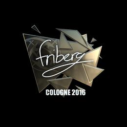 friberg (Foil) | Cologne 2016