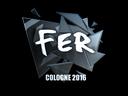 Sticker | fer (Foil) | Cologne 2016