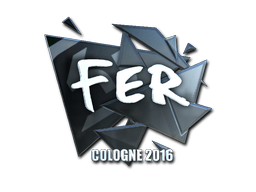 Sticker | fer (Foil) | Cologne 2016
