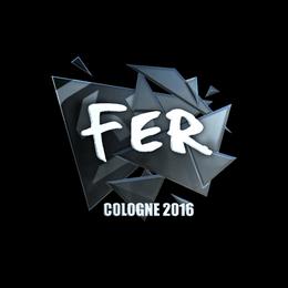 fer (Foil) | Cologne 2016