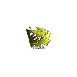 Sticker | flamie (Foil) | Cologne 2016