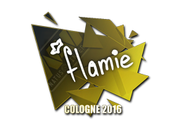 Sticker | flamie | Cologne 2016