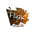 Sticker   flusha <br>(Foil)   Cologne 2016