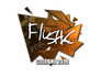 Skin Sticker | flusha (Foil) | Cologne 2016